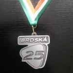 Brdská 25 - medaile